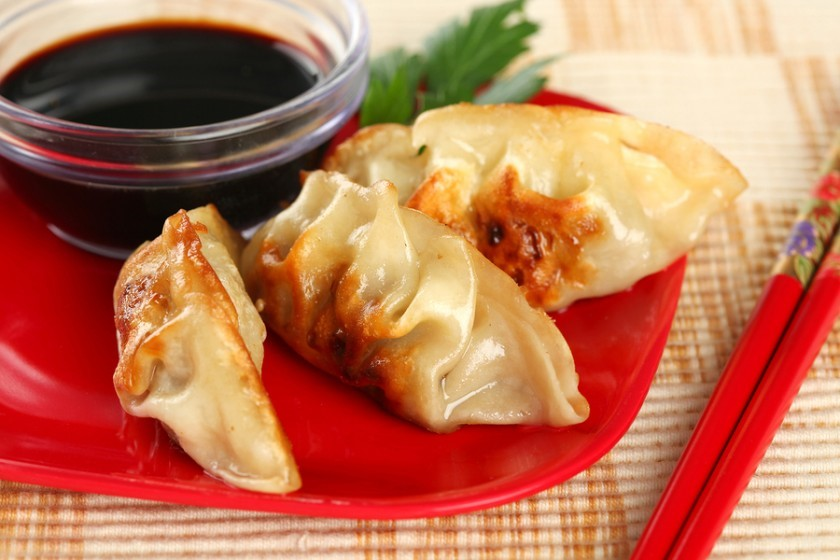 Eat Dumplings with Ink Soy Sauce for a Lucky Chinese New Year