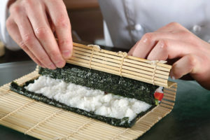 Rolling the Perfect Sushi